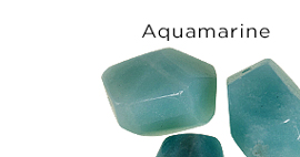 Genuine Aquamarine Gemstones