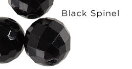 Genuine Black Spinel Gemstones