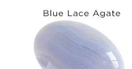 Genuine Blue Lace Agate Gemstones