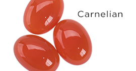 Genuine Carnelian Gemstones