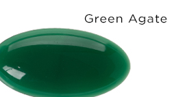 Genuine Green Agate Gemstones