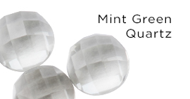 Genuine Mint Green Quartz Stones