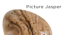 Genuine Picture Jasper Gemstones