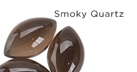 Genuine Smoky Quartz Gemstones