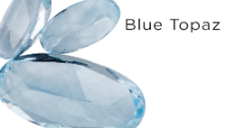 Genuine Blue Topaz Gemstones