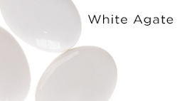 Genuine White Agate Gemstones